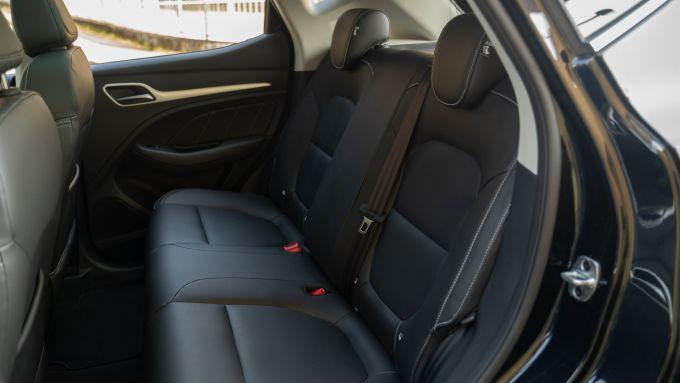 MG ZS EV: i sedili posteriori