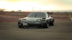 Miata sempre attuale: la Mazda MX-5 nel rendering cyberpunk