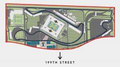 F1 Miami Grand Prix, sui social il layout del Circuito