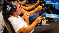 Miami's Fastest Gamer 2020: Juan Pablo Montoya esulta dopo la vittoria