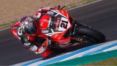 Michael Ruben Rinaldi in azione nei test di Jerez