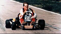 Michael Schumacher agli esordi nel karting (1990)
