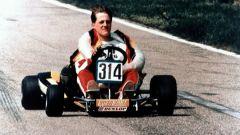 Michael Schumacher agli inizi con i kart