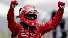 Michael Schumacher ai tempi della Ferrari Marlboro