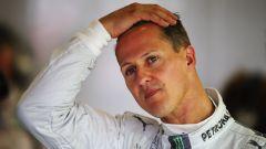 Michael Schumacher ai tempi della Mercedes