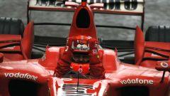 Michael Schumacher alla sua ultima vittoria, GP di Cina 2006
