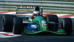 Michael Schumacher all'esordio in F1 sulla Jordan 191 in Belgio (1991)