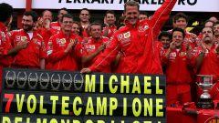 Michael Schumacher Campione del Mondo 2004