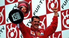 Michael Schumacher Campione del Mondo con la Ferrari (2000)