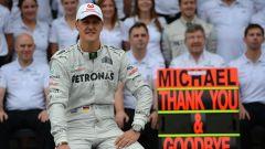 Michael Schumacher dà l'addio definitivo alla Formula 1 (2012)