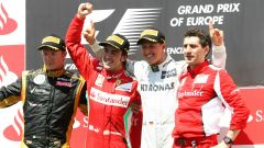 Michael Schumacher e il suo ultimo podio nel GP d'Europa a Valencia (2012)