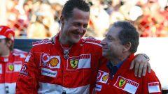 Michael Schumacher e Jean Todt