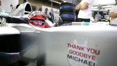 Michael Schumacher e la sua ultima gara in F1, GP del Brasile 2012