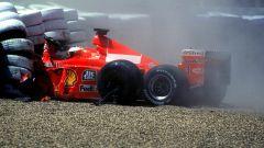 Michael Schumacher e l'incidente di Silverstone 1999
