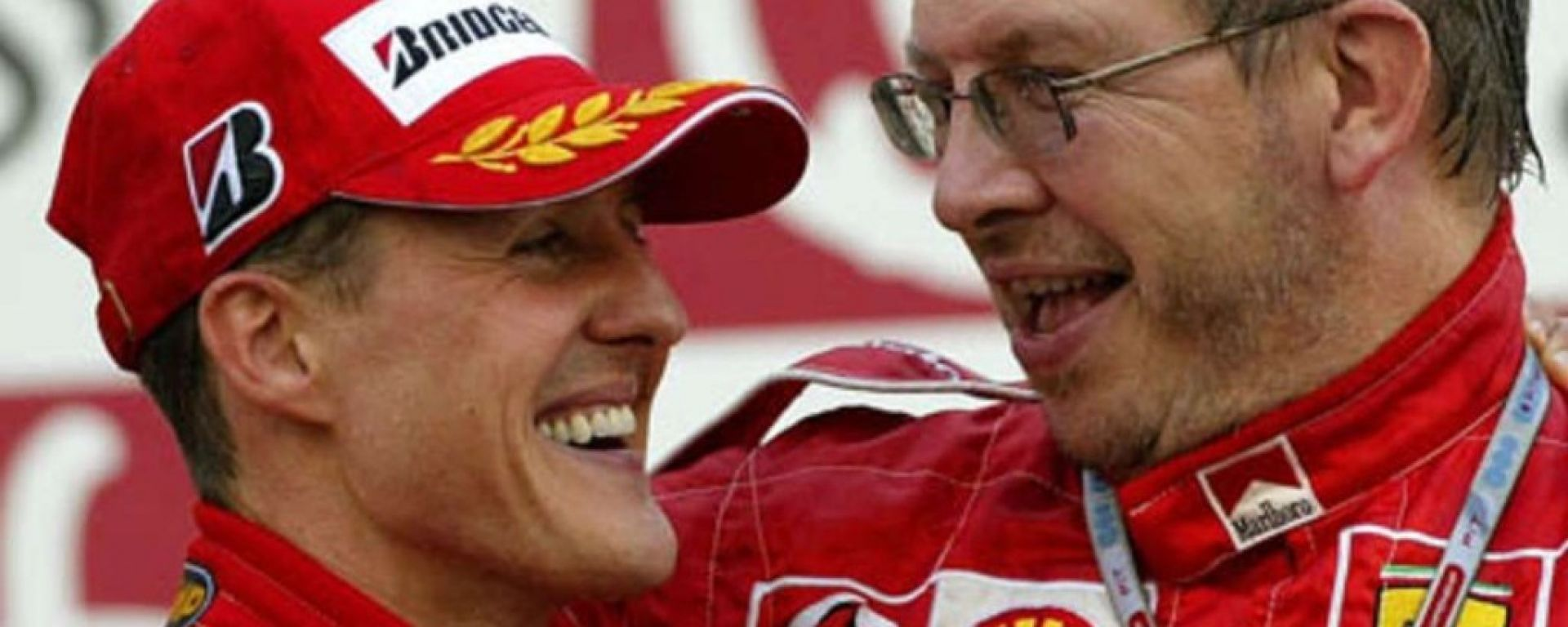Michael Schumacher e Ross Brawn