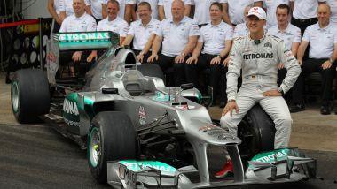 Michael Schumacher, GP Brasile 2012, la sua ultima gara in Formula 1