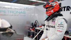 Michael Schumacher nel team Mercedes F1 (2011)