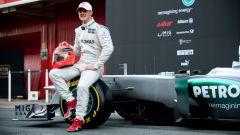 Michael Schumacher ritorna in Formula 1 con la Mercedes (2010)