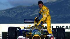 Michael Schumacher sulla Benetton-Ford B192 al Paul Ricard (1992)