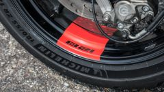 Michelin Power 5: sulla Monster 821 hanno migliorato molto la dinamica di guida