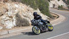 Michelin Power RS: l'anteriore è solido e preciso