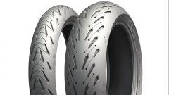 Michelin Road 5: i profili dell'anteriore e del posteriore