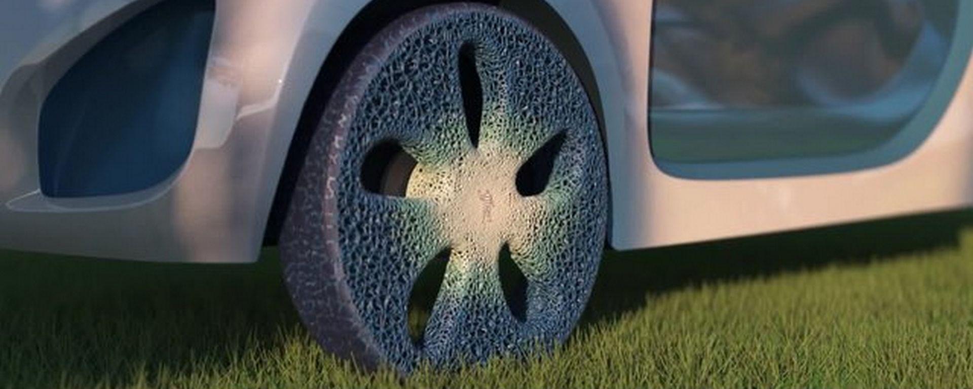 Michelin Visionary Concept: gli pneumatici del futuro