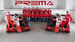 Mick Schumacher alla presentazione del team Prema