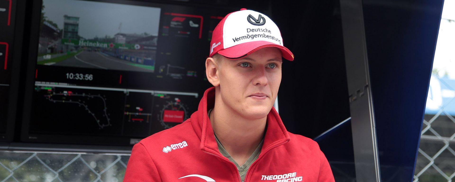 Mick Schumacher, figlio della leggenda Michael