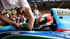 Mick Schumacher nella Benetton B194