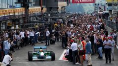 Mick Schumacher parte con la Benetton B194