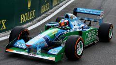F1 2017: ecco il giro d'onore di Mick Schumacher sulla Benetton di papà Michael - Immagine: 1