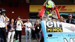 Mick Schumacher vicino alla Benetton