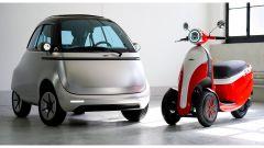 Microlino 2.0 e Microletta, scooter 3 ruote