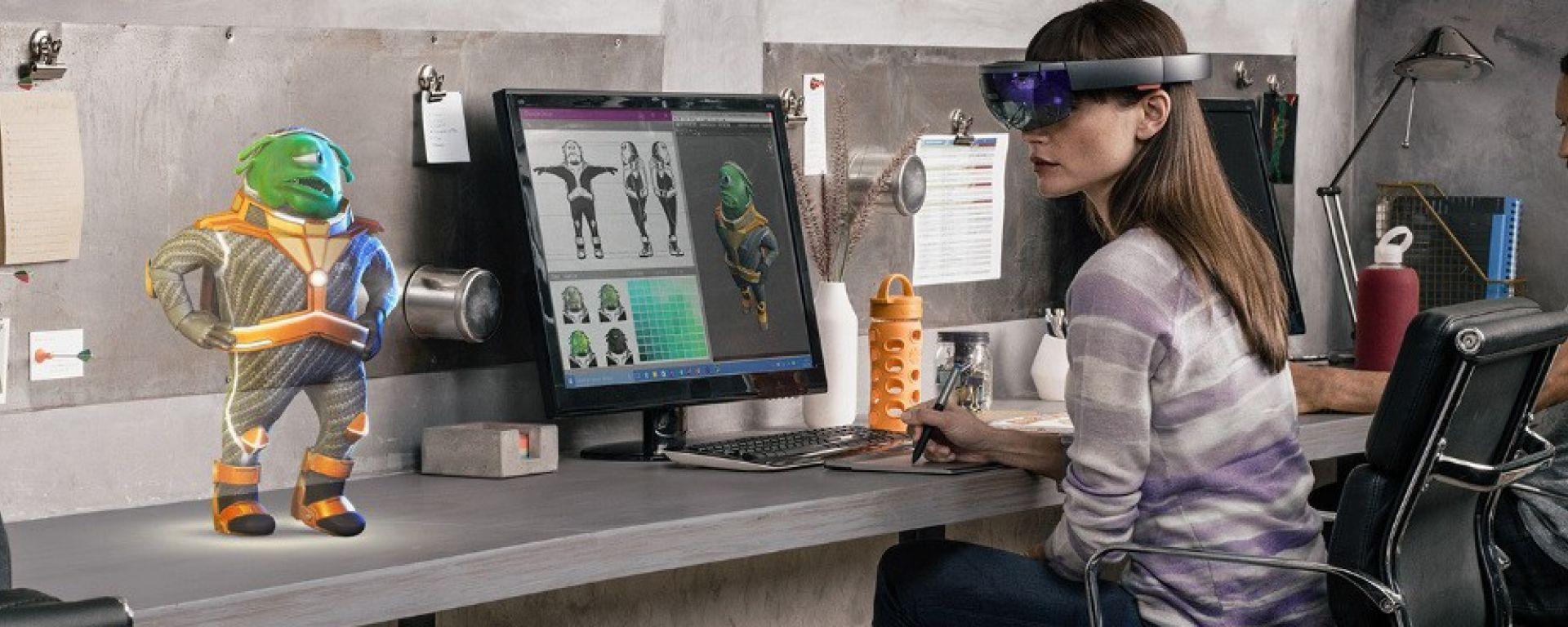 Microsoft HoloLens per i progetti di animazione