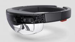 Microsoft HoloLens: vista di 3/4