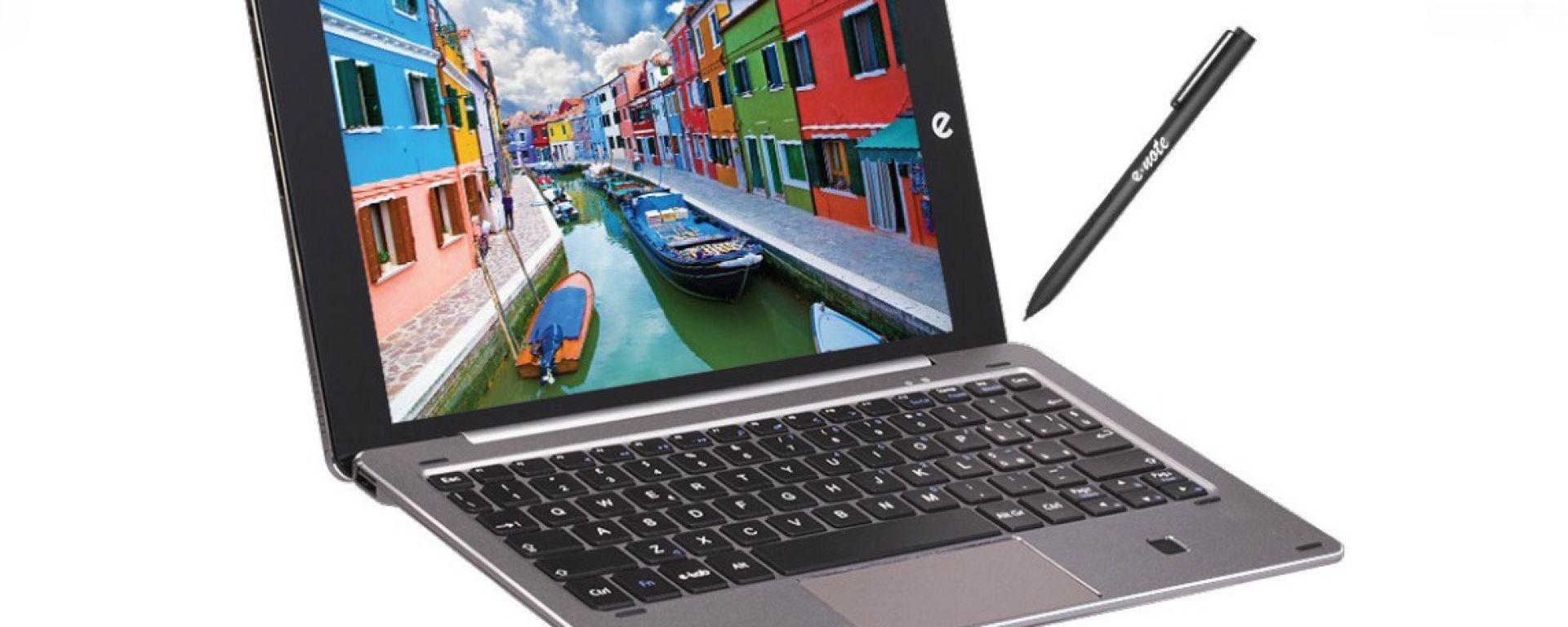 Microtech e-tab Pro con tastiera e-keyboard e penna e-note