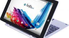 Microtech e-tab Pro con tastiera e-keyboard