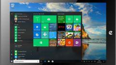 Microtech e-tab Pro: il menu di Windows 10