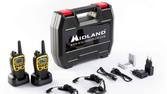 Midland XT70, walkie talkie per avventurieri estremi