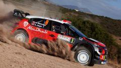Mikkelsen e la sua Citroen C3 WRC - Rally Italia Sardegna
