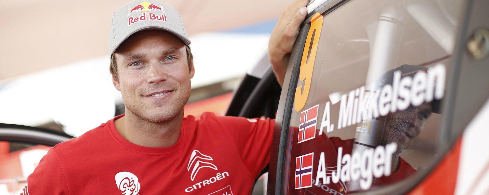 Mikkelsen e la sua Citroen C3 WRC
