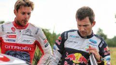 Mikkelsen e Ogier - WRC Rally di Germania 2017