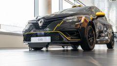 Milano, 12 dicembre 2019: presentazione della Nuova Renault Clio Rally, vista 3/4 anteriore