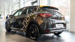 Milano, 12 dicembre 2019: presentazione della Nuova Renault Clio Rally, vista 3/4 posteriore