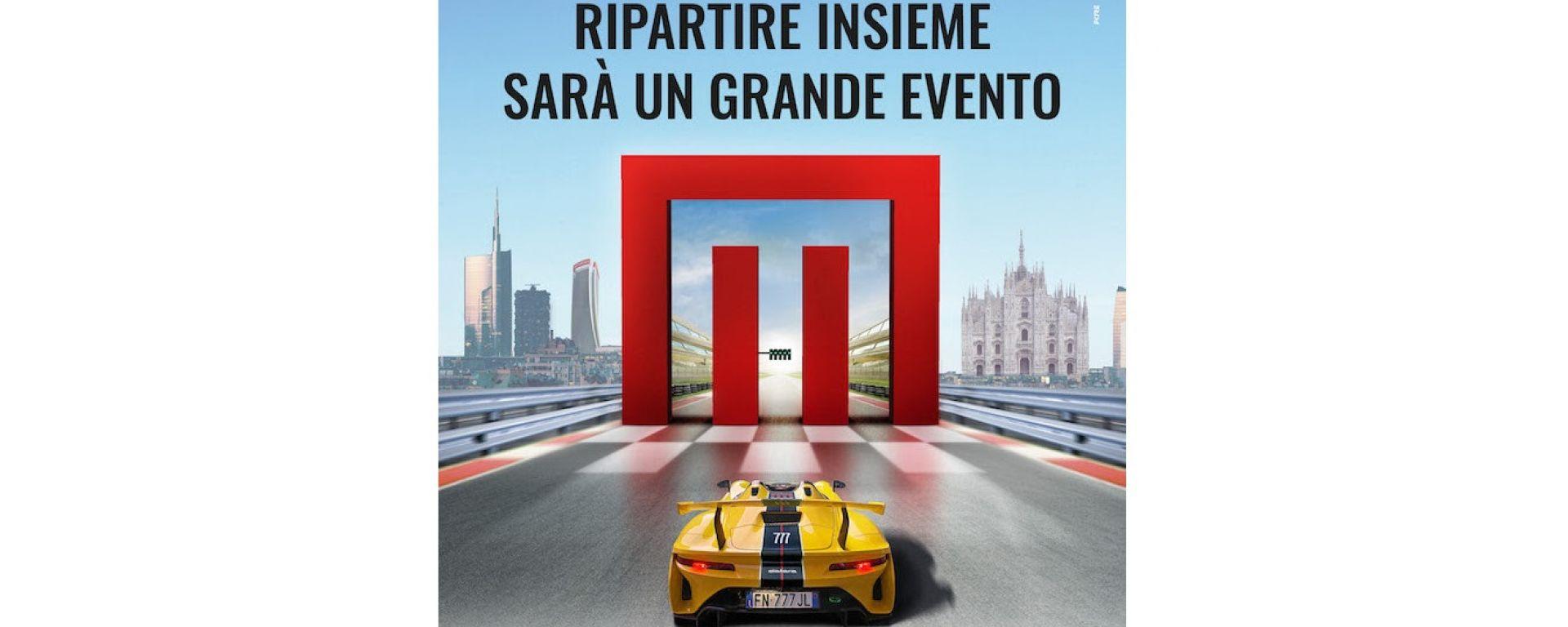 Milano Monza Open Air Motor Show: festa rinviata ad ottobre