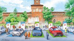 Milano Monza Open-Air Motor Show 2020, esposizione anche in Piazza Castello