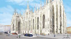 Milano Monza Open-Air Motor Show 2020, Piazza Duomo