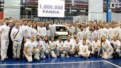 Milionesima Fiat Panda, foto ricordo