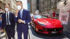 MIMO 2021: il sindaco di Milano nello stand Ferrari